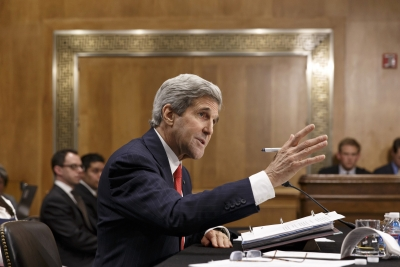Secretary of State John Kerry testifies before the Senate Foreign Relations Committee