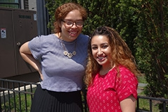 2016 Ford Justice Fellows Amanda Mozea and Karla Alvarado