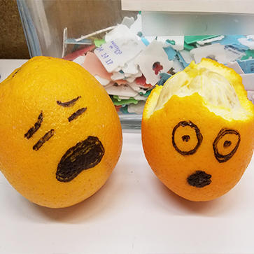 Sad oranges