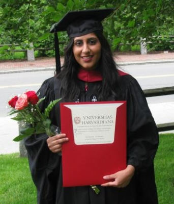 Monina Cheema, AM '08