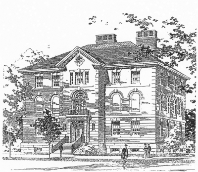 Harvard Semitic Museum c. 1903