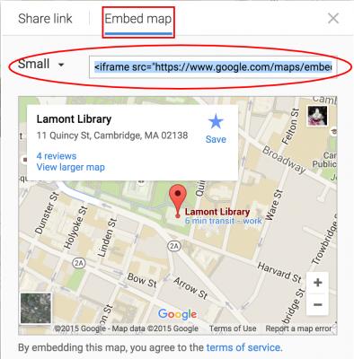 Google Maps Openscholar Documentation