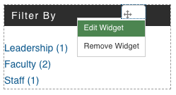 edit taxonomy widget
