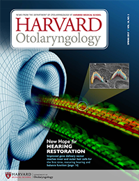 Harvard Otolaryngology Spring 2017 cover