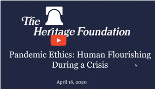 Heritage Foundation Webinar