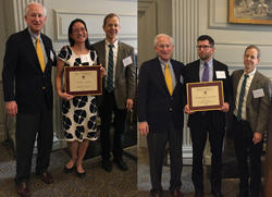Elisa Cheng, MD, and Alex Keuroghlian, MD, are the 2018 Co-Recipients of the Borus Award