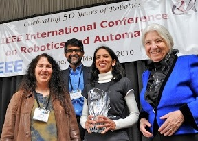 Borg Early Career Award, 2010