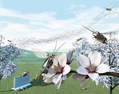Robobee colony conceptual picture
