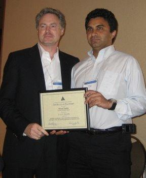 2007 Fellow of Association for Advancement of Artificial Intelligence (AAAI)
