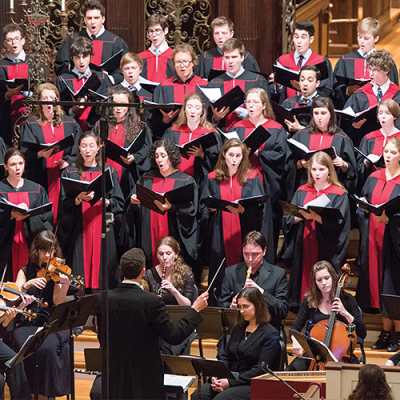 The Harvard University Choir