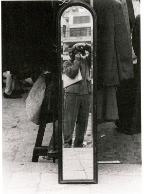 Self-Portrait in Mirror 1946 / Henry Koerner