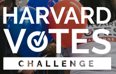 Harvard Votes Challenge logo
