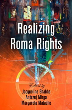 Image of book cover Realizing Roma Rights