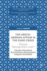 Image of book cover of The Greco-German Affair in the Euro Crisis