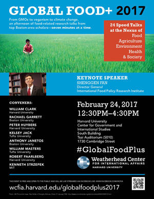 Image of Global Food + 2017 Poster