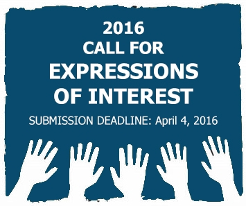2016 Call for Expressions of Interest