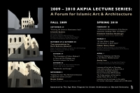 2009-2010 Lecture Poster