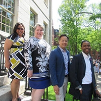 Group photo of the Equity, Diversity, and Inclusion Team