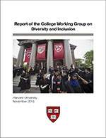 Report of the College Working Group on Diversity and Inclusion