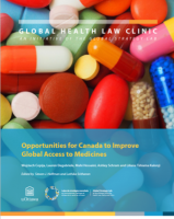 Opportunities for Canada to Improve Global Access to Medicines