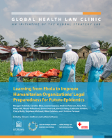Learning from Ebola to Improve Humanitarian Organizations' Legal Preparedness for Future Epidemics