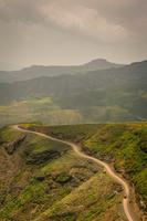 Mountain path in Ethiopia
