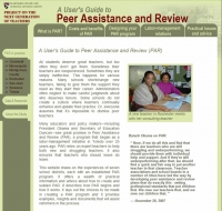 Peer Assistance and Review