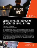 Deportation and the Policing of Immigration