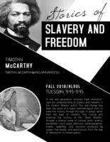 Stories of Slavery and Freedom