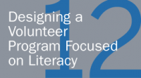 Designing a Volunteer Program Focused on Literacy