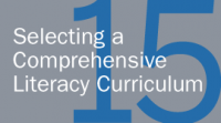 Selecting a Comprehensive Literacy Curriculum