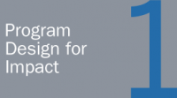 Program Design for Impact