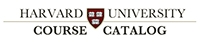 Harvard University Course Catalog