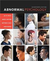 Abnormal Psychology, 17th Edition