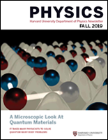 Physics Newsletter 2019 - cover