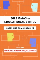 Dilemmas of Educational Ethics book cover