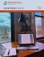 Thumbnail image of the cover of the fall 2020 Centerpiece