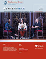 Image of Spring 2019 Centerpiece cover