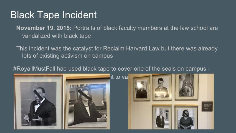 The Black Tape Incident, Source: Student Presentation