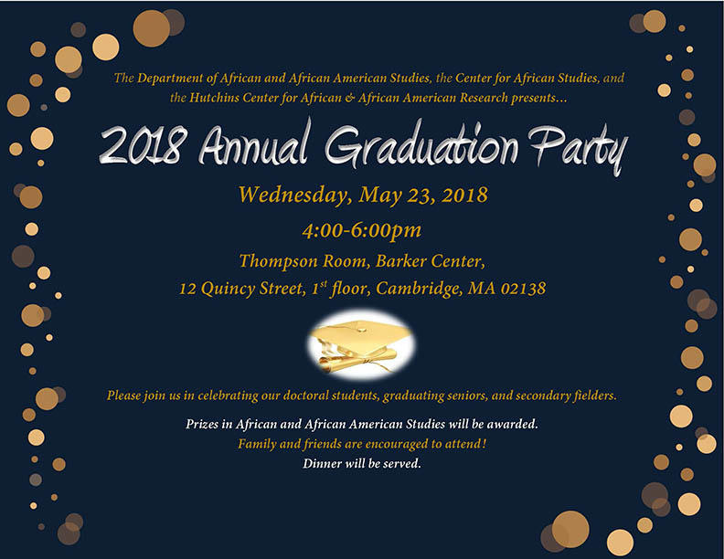 AAAS Graduation Party