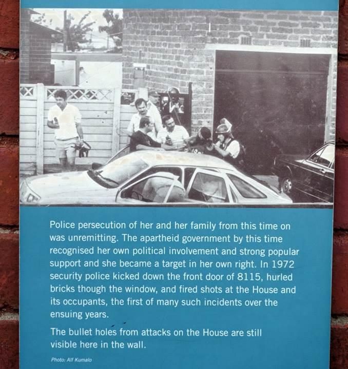 Police persecution sign