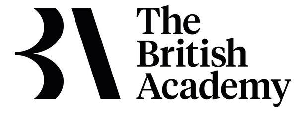 The British Academy logo (white)