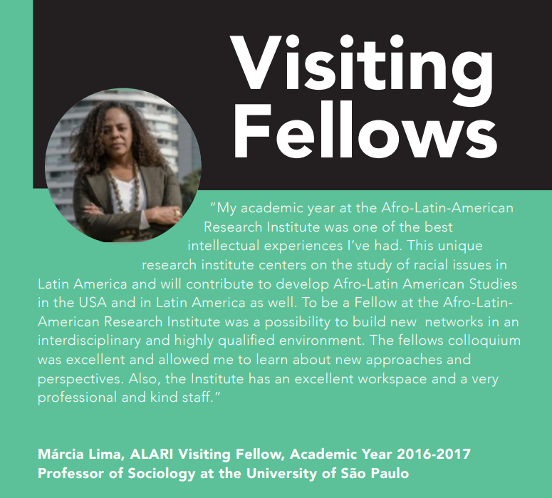 Marcia Lima on Fellowships