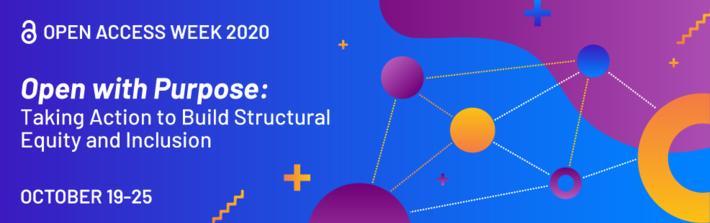 open access week banner 2020