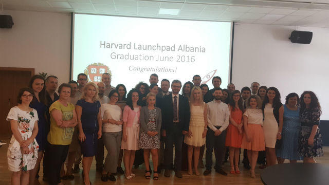 Graduation ceremony Albania