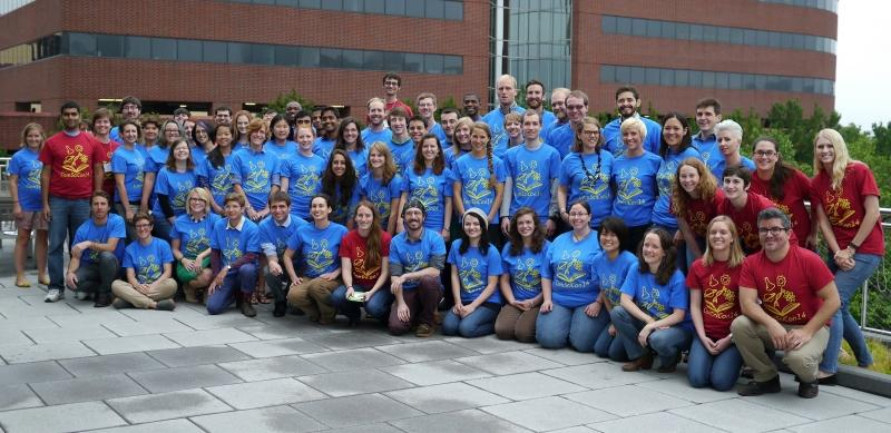 Group photo taken at ComSciCon'14