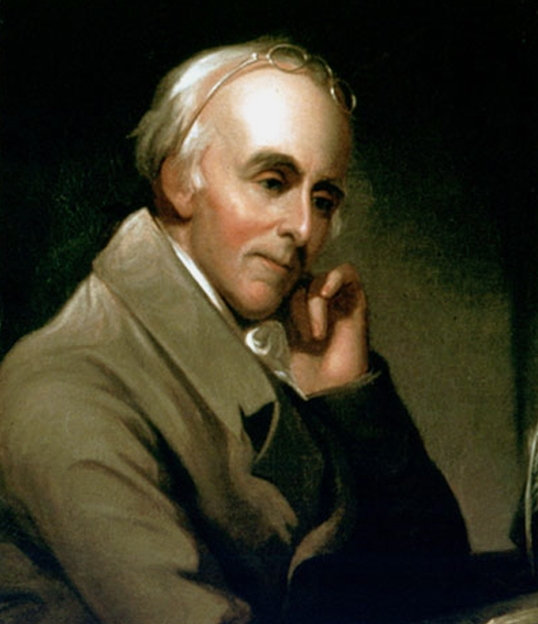 Benjamin Rush, by Charles Willson Peale