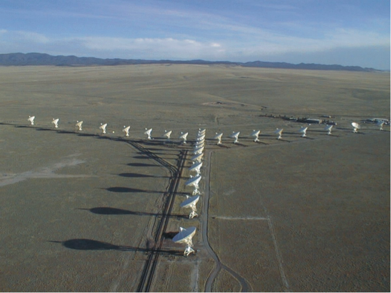 Photo of the Very Large Array in New Mexico