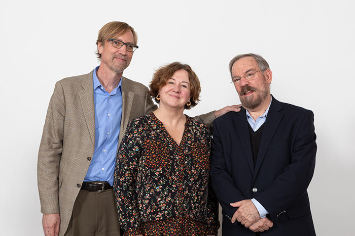 Image of Michele Lamont, Peter Hall, and Paul Pierson