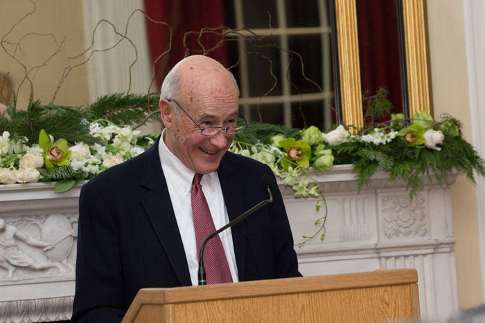 Image of Joseph Nye at the Manshel Lecture